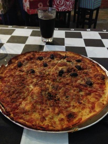 Rogue Vagabond pizza