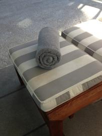 Wharekauhau pool towel