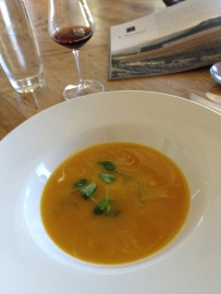 Wharekauhau soup