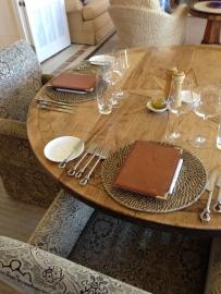 Wharekauhau table