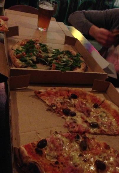Goldings pizza