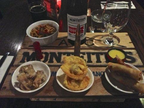 Wild food platter