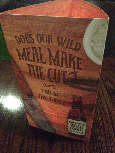 Wild Food sign