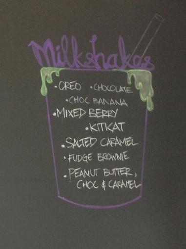 Mama browns milkshakes
