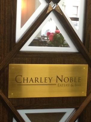 Charley Noble door
