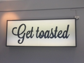 Toast it logo