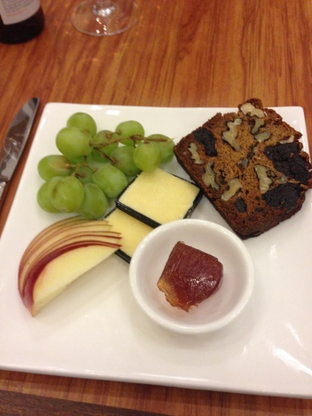 City Dining prune cheese