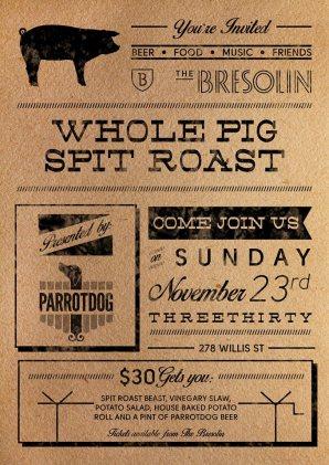 Bresolin spit roast