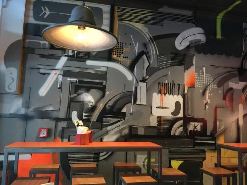 Burger Liq decor
