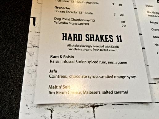 Burger Liq hard shakes