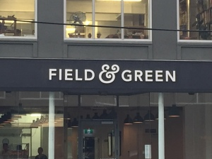 F&G signage