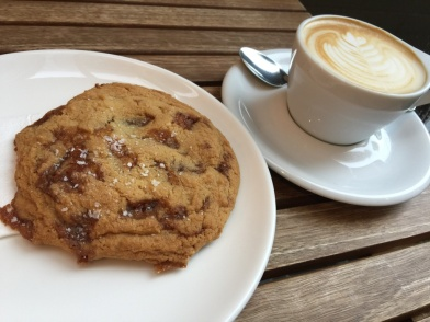 Red Rabbit coffee cookie