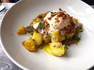 TK smoked fish potato