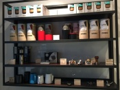 Beanery shelves