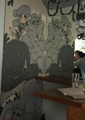 Taproom decor