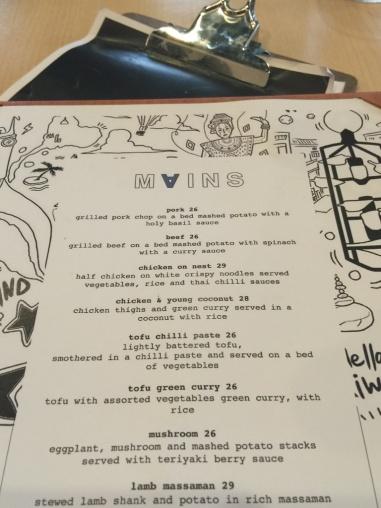 Tahi menu