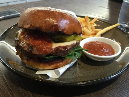 Sterling wagyu burger