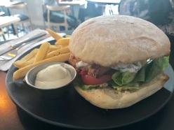 Botanist haloumi burger