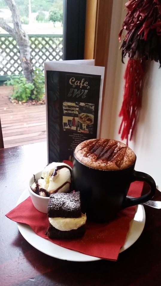 Cafe Iwi- Chocolate Cake