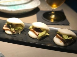 Hot Sauce tea smoked duck bao