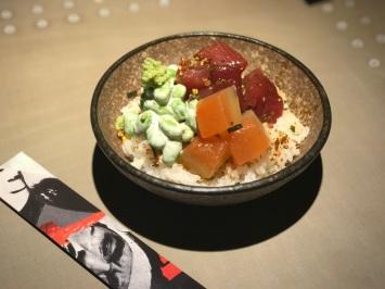 Hot Sauce tuna poke